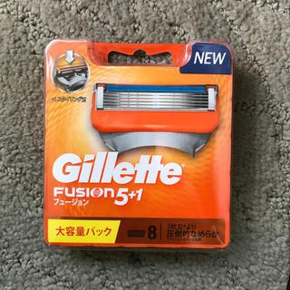 ジレ(gilet)のBijouxapr様専用 フュージョン5+1 NEWパッケージ 替刃8個入(日用品/生活雑貨)