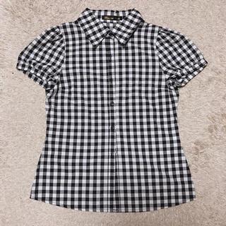 グラマラスガーデン(GLAMOROUS GARDEN)の黒×白 シャツ(シャツ/ブラウス(半袖/袖なし))