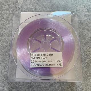 DRT オリジナル ナイロン ハード ライン 25lb パープル(釣り糸/ライン)