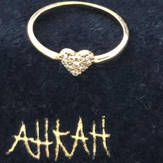 アーカー(AHKAH)のアーカーリング(リング(指輪))