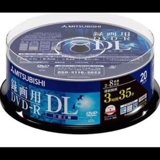 ミツビシ(三菱)の三菱化学メディア DVD-R 215分 20枚(DVDレコーダー)
