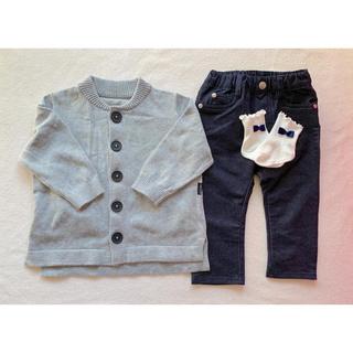 コムサイズム(COMME CA ISM)のコムサ ベビー服セット(ニット/セーター)