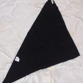 みぃみぃさま専用 三角巾 黒(その他)