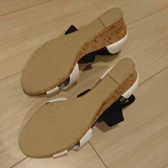 GU(ジーユー)の☆ruu様専用☆ GU サンダル クロスゴムベルト レディースの靴/シューズ(サンダル)の商品写真