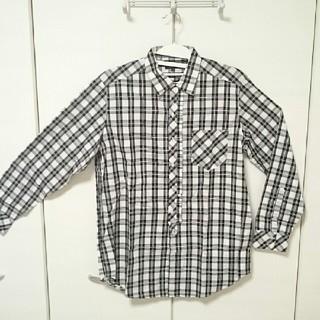 m.f.editorial - Yシャツ チェック柄 長袖 Lサイズ