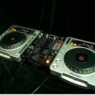 パイオニア(Pioneer)のCDJ800MK2&DJM400 コードセット(CDJ)