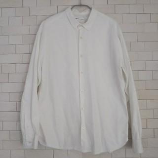ヤエカ(YAECA)のEEL バルーンシャツ ホワイト(シャツ)