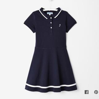 ジャカディ(Jacadi)の☆jacadi☆ポロワンピース 紺色 6歳サイズ(ワンピース)