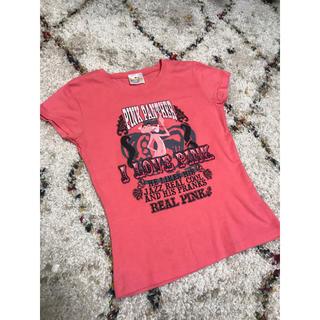 ユニバーサルエンターテインメント(UNIVERSAL ENTERTAINMENT)のpink panther Tシャツ(Tシャツ/カットソー(半袖/袖なし))