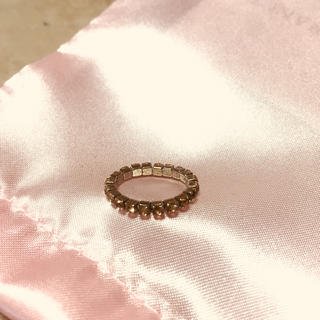 シャンパンゴールド ピンキーリング(リング(指輪))