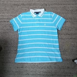 ラルフローレン(Ralph Lauren)の未使用 ラルフローレン ポロシャツ ブルー Lサイズ ゴルフにも(ポロシャツ)