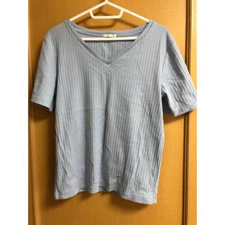 ジーユー(GU)のGU シャツ(Tシャツ(半袖/袖なし))