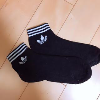 アディダス(adidas)のアディダス 靴下 レディース (使用済み)(ソックス)