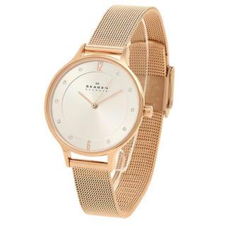 スカーゲン(SKAGEN)の新品 スカーゲン 腕時計 レディース スワロフスキー SKW2151 軽量(腕時計)
