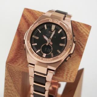 カシオ(CASIO)の新品 CASIO G-MS レディース 腕時計 MSG-W200CG-5AJF(腕時計)