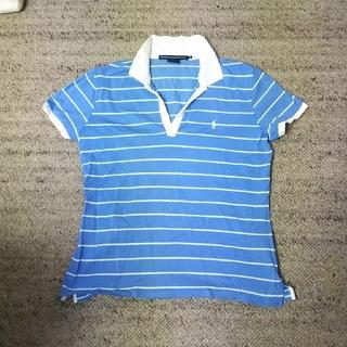 ラルフローレン(Ralph Lauren)の 未使用 ラルフローレン スポーツ ポロシャツ Lsize ボタン無し ゴルフ(ポロシャツ)