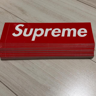 シュプリーム(Supreme)のsupreme ボックスロゴ ステッカー 50枚セット(ステッカー)