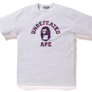 アベイシングエイプ(A BATHING APE)のA BATHING APE×UNDEFEATED(Tシャツ/カットソー(半袖/袖なし))