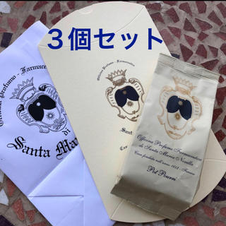 サンタマリアノヴェッラ(Santa Maria Novella)の4月購入サンタ・マリア・ノヴェッラ☆ポプリ詰替3個☆ショッパー、ギフトBOX付(その他)