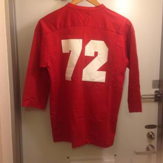 アディダス(adidas)のadidas アディダス ロンT カットソー ロゴ L RED(Tシャツ/カットソー(七分/長袖))