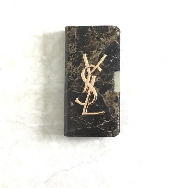 Yves Saint Laurent Beaute(イヴサンローランボーテ)のイブサンローランのスマホケース スマホ/家電/カメラのスマホアクセサリー(iPhoneケース)の商品写真