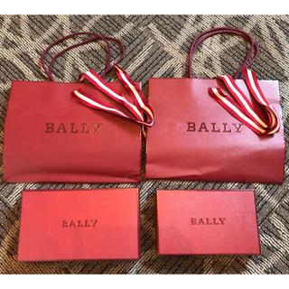 バリー(Bally)のBALLY 空箱、 紙袋(ショップ袋)