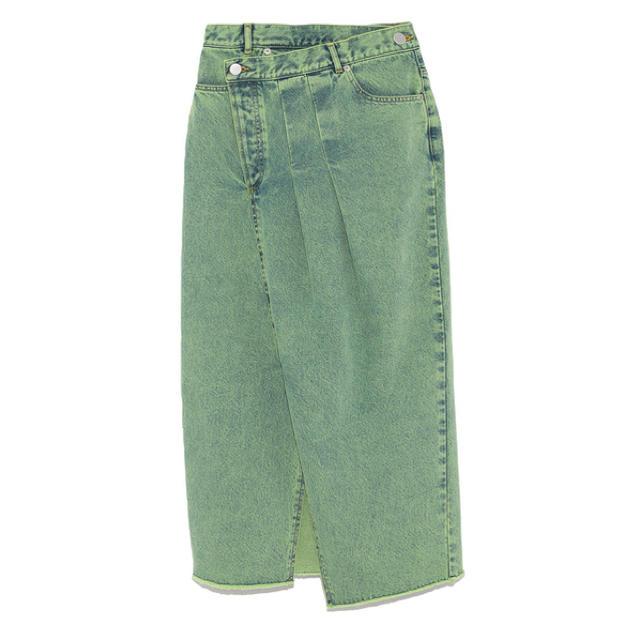 FRAY I.D(フレイアイディー)のリメイクデニムスカート レディースのスカート(ロングスカート)の商品写真