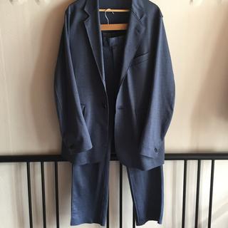 サンシー(SUNSEA)のURU 18ss MILANO RIB jacket easy pants(セットアップ)