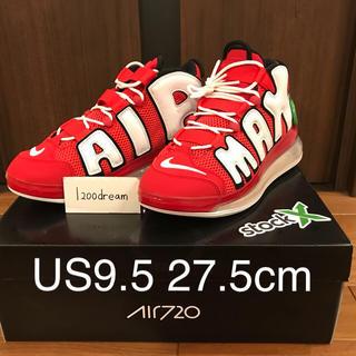 ナイキ(NIKE)の確実正規品 27.5cm NIKE AIR MORE UPTEMPO 720(スニーカー)
