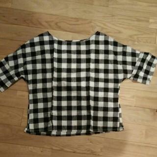 ジーユー(GU)のリネン カットソー(シャツ/ブラウス(半袖/袖なし))