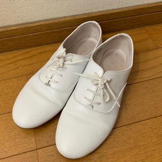 トゥモローランド(TOMORROWLAND)の白 オックスフォード Tomorrowland (ローファー/革靴)