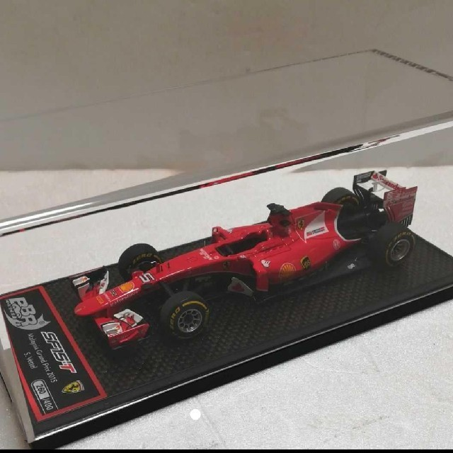 Ferrari(フェラーリ)の値下げ!BBR 1/43 フェラーリ SF15-T ベッテル マレーシアGP エンタメ/ホビーのおもちゃ/ぬいぐるみ(ミニカー)の商品写真