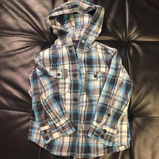 エイチアンドエム(H&M)のH&M☆シャツパーカー サイズ110(ジャケット/上着)