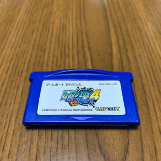 ゲームボーイアドバンス(ゲームボーイアドバンス)のロックマンエグゼ4 ブルームーン(携帯用ゲームソフト)