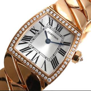 カルティエ(Cartier)の正規品 カルティエ ラドーニャSM クォーツ PG無垢 ダイヤベゼル(腕時計)