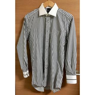 メイルアンドコー(MALE&Co.)のMALE & Co. 縦ストライプのシャツ M-82(シャツ)