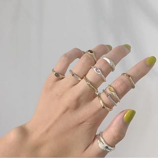 ロンハーマン(Ron Herman)のpluie Selective gem ring プリュイ 一点物(リング(指輪))