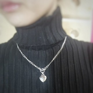 Kastane - ♡ ハート チェーン ネックレス