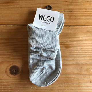 ウィゴー(WEGO)のWEGO 3つ折りラメソックス(ソックス)