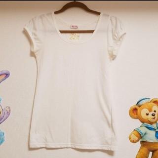 バイバイ(ByeBye)のBye-Bye☆パフスリカットソー/Tシャツ/白(Tシャツ(半袖/袖なし))