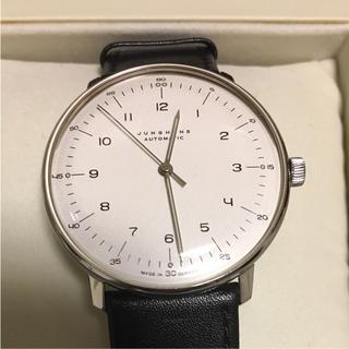 ユンハンス(JUNGHANS)のユンハンス  マックスビル 自動巻 38ミリ 美品(腕時計(アナログ))