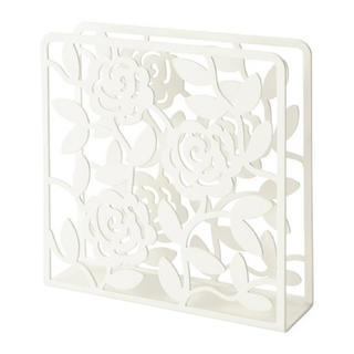 イケア(IKEA)のIKEA ナプキンホルダー ローズ ホワイト(テーブル用品)