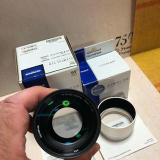 オリンパス(OLYMPUS)のオリンパス M.ZUIKO DIGITAL ED 75mm F1.8(レンズ(単焦点))