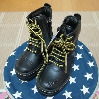 ヒステリックミニ(HYSTERIC MINI)のヒステリックミニ 編み上げブーツ(ブーツ)