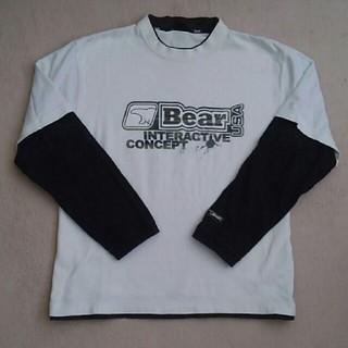 ベアー(Bear USA)のBear USA 厚手のロングTシャツM(Tシャツ/カットソー(七分/長袖))