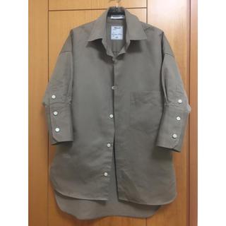 マディソンブルー(MADISONBLUE)のMADISONBLUE シャツ ベージュ サイズ00(シャツ/ブラウス(長袖/七分))
