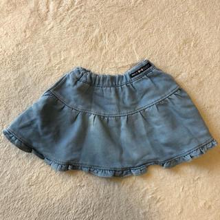 ブリーズ(BREEZE)のBREEZE デニムスカート 100(スカート)