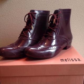 メリッサ(melissa)の値下げ★新品★メリッサ★レインシューズ(レインブーツ/長靴)