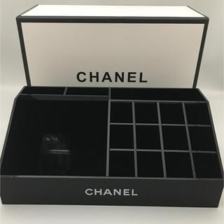 シャネル(CHANEL)のコスメスタンド オーガナイザー 小物入れ 非売品(小物入れ)
