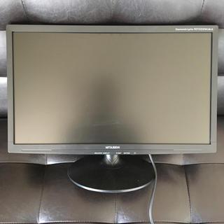 ミツビシデンキ(三菱電機)のMITSUBISHI モニタ PC 22インチ(ディスプレイ)